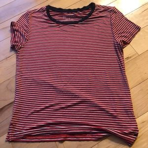 red striped American Eagle shirt!